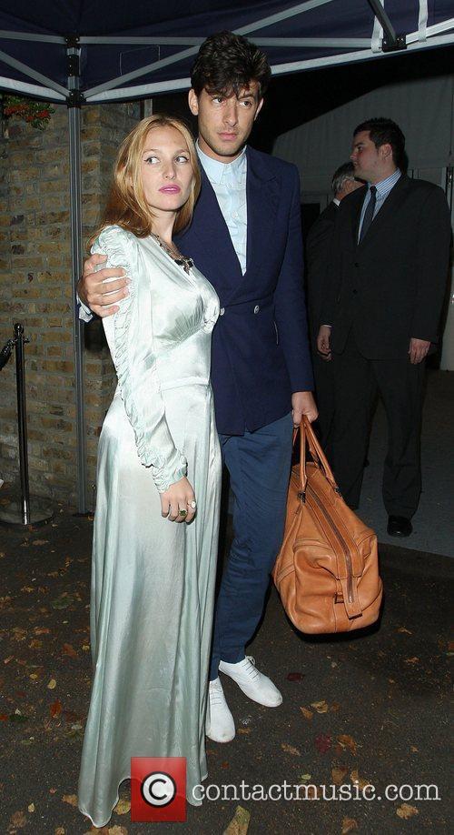 Mark Ronson and wife, Josephine de La Baume,...