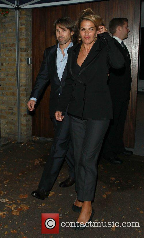 Tracey Emin,  at Paul McCartney and Nancy...