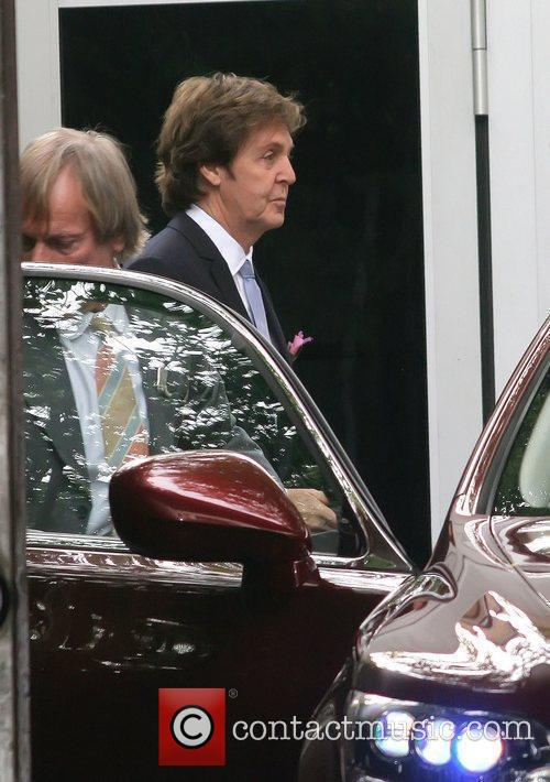 Sir Paul McCartney and NANCY SHEVELL 3