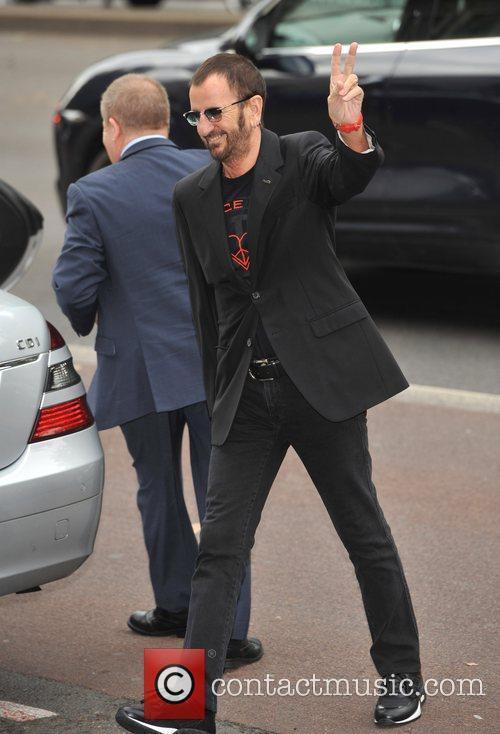 Ringo Starr The wedding of Sir Paul McCartney...