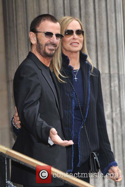 Ringo Starr and Barbara Bach  The wedding...