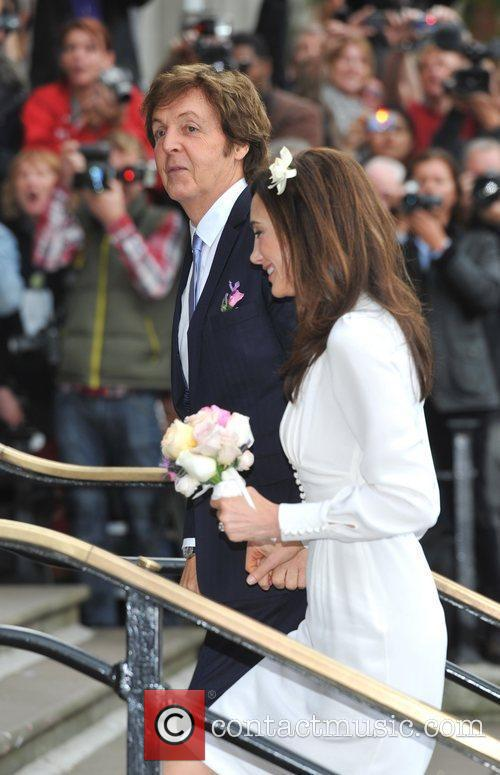 Sir Paul Mccartney and Nancy Shevell 9