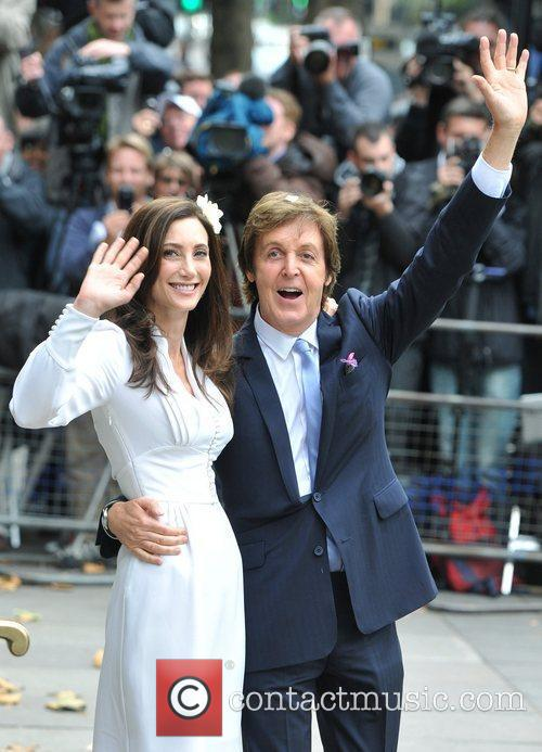Sir Paul McCartney and NANCY SHEVELL 17