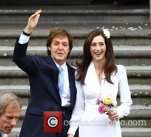 Sir Paul McCartney and NANCY SHEVELL 16