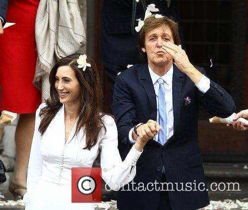 Sir Paul McCartney and NANCY SHEVELL 36