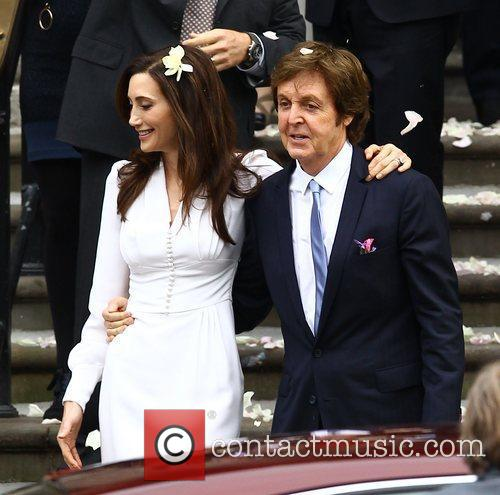 Sir Paul McCartney and NANCY SHEVELL 29