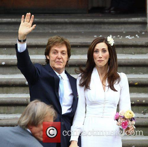 Sir Paul McCartney and NANCY SHEVELL 34