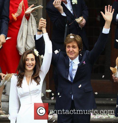 Sir Paul McCartney and NANCY SHEVELL 52