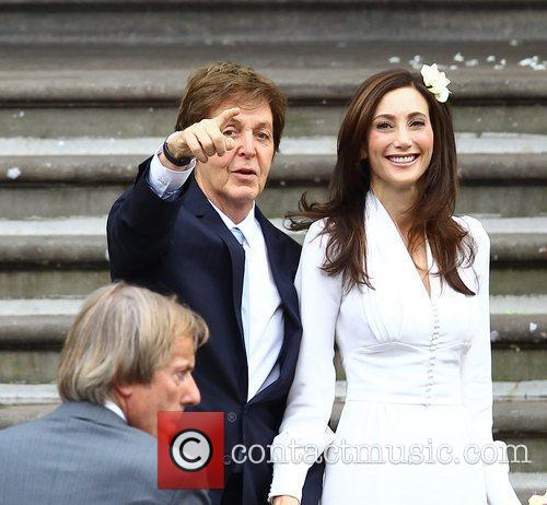 Sir Paul McCartney and NANCY SHEVELL 41