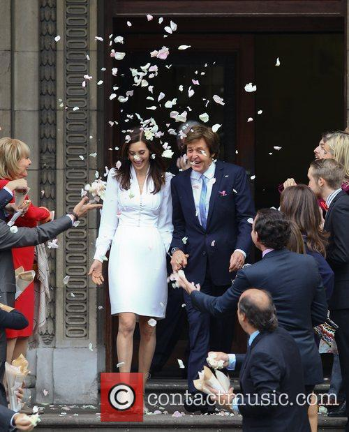 Sir Paul McCartney and NANCY SHEVELL 44