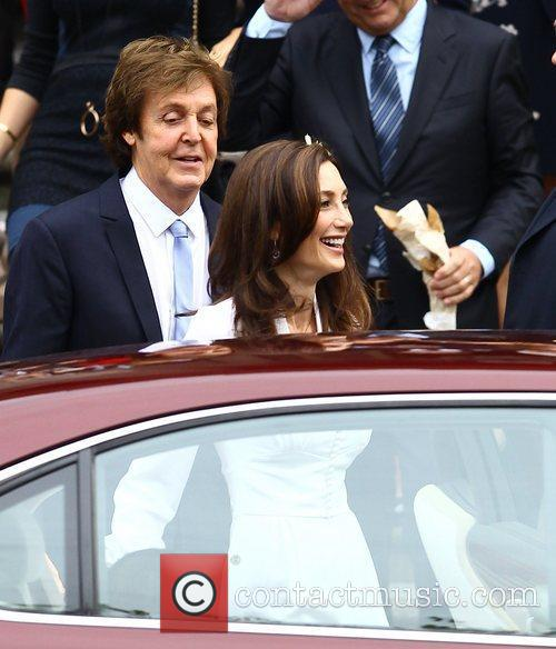 Sir Paul McCartney and NANCY SHEVELL 39