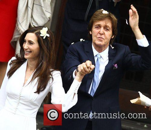 Sir Paul McCartney and NANCY SHEVELL 55
