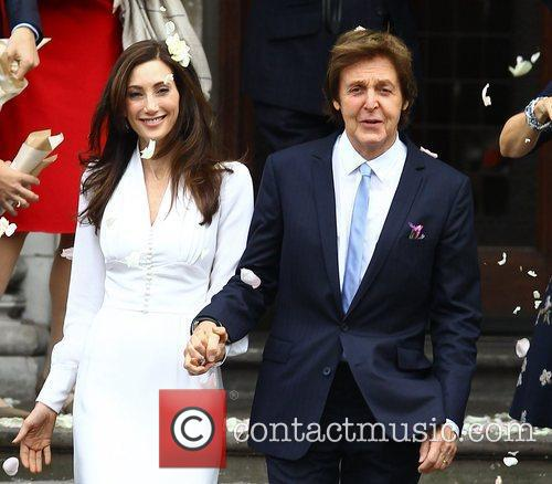 Sir Paul McCartney and NANCY SHEVELL 45