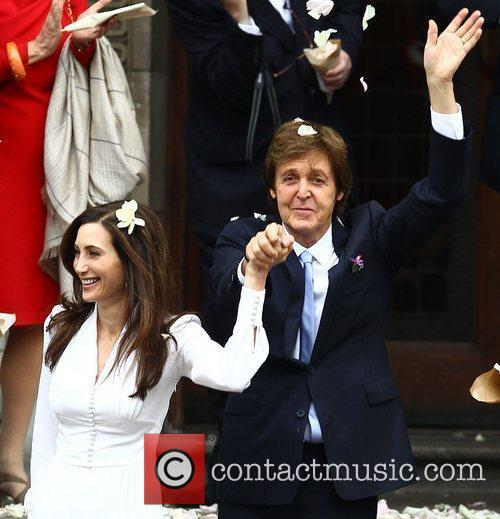 Sir Paul McCartney and NANCY SHEVELL 38