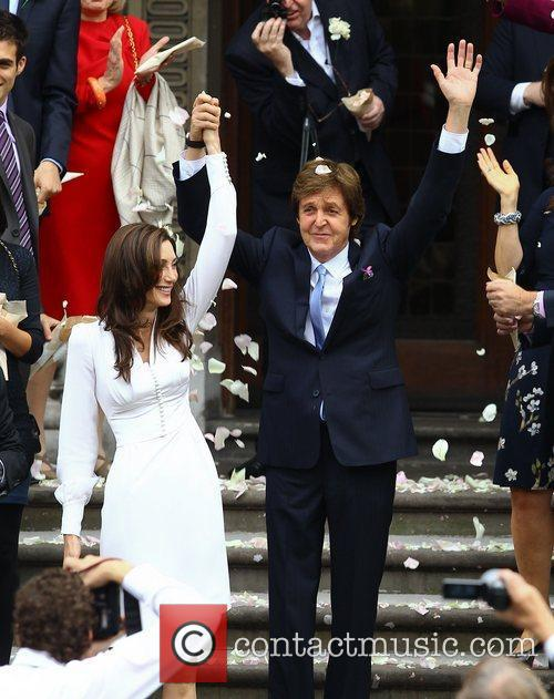 Sir Paul McCartney and NANCY SHEVELL 46