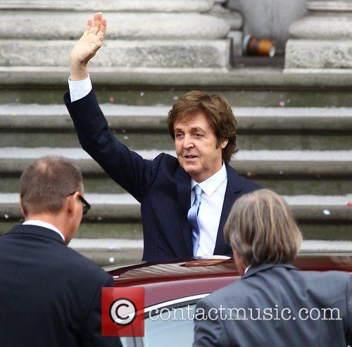 Sir Paul McCartney The wedding of Sir Paul...