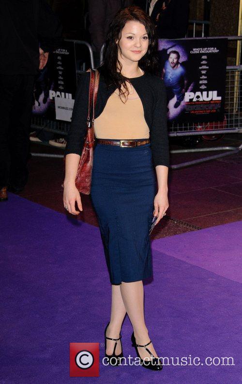Kathryn Prescott Paul - UK film premiere held...