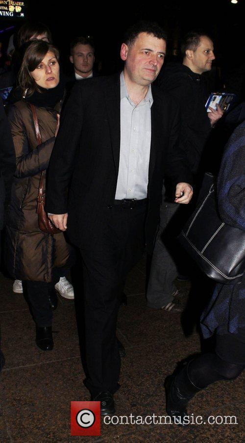 Steven Moffat  Paul - UK film premiere...