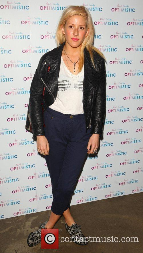Ellie Goulding Paul Smith fragrance launch held at...