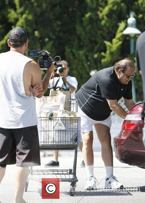 Paul Sorvino shopping at Bristol Farms in West...