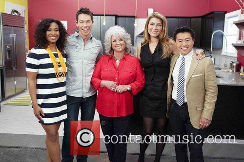 Tanika Ray and Paula Deen 2