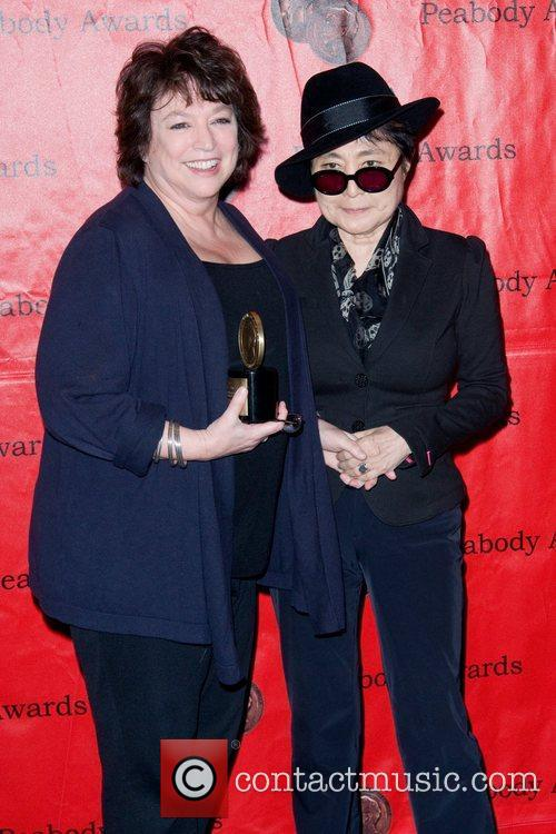 Susan Lacy and Yoko Ono 70th Annual Peabody...