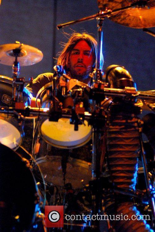 Rob Bourdon of Linkin Park,  performing at...