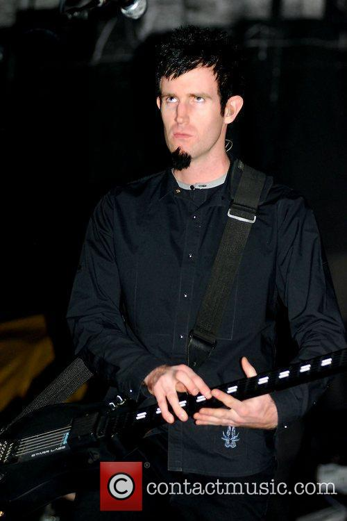 Rob Swire of Pendulum,  performing at the...