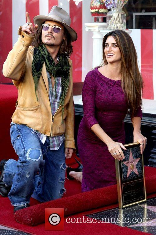 Johnny Depp and Penelope Cruz 4