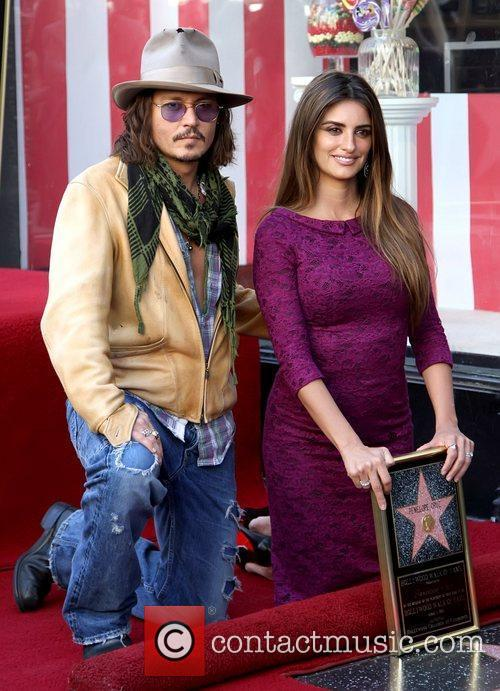 Johnny Depp and Penelope Cruz 2