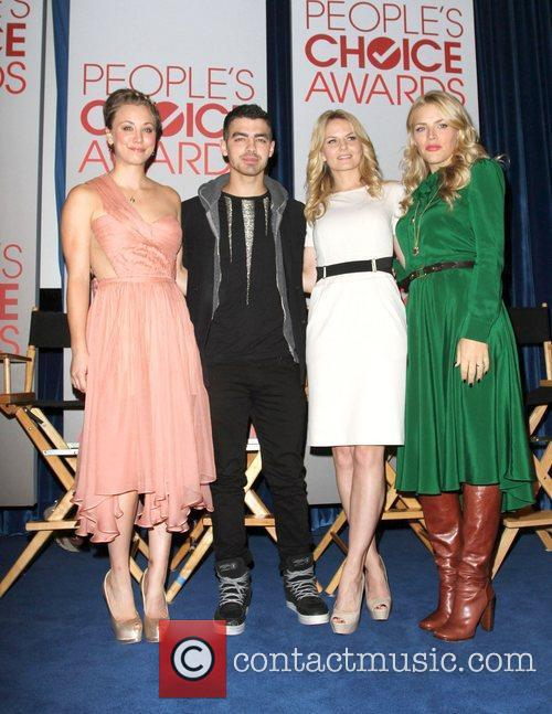 Kaley Cuoco, Busy Philipps, Jennifer Morrison, Joe Jonas and Paley Center For Media