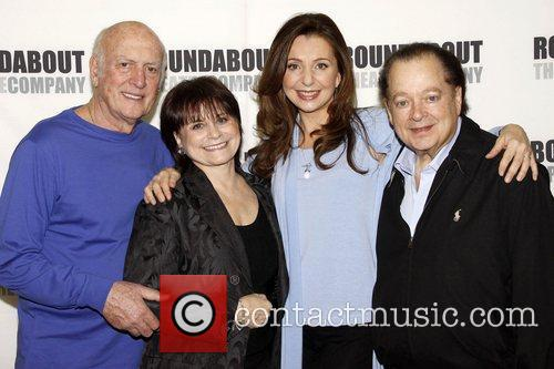 Mike Stoller, Iris Rainer Dart, Donna Murphy and...