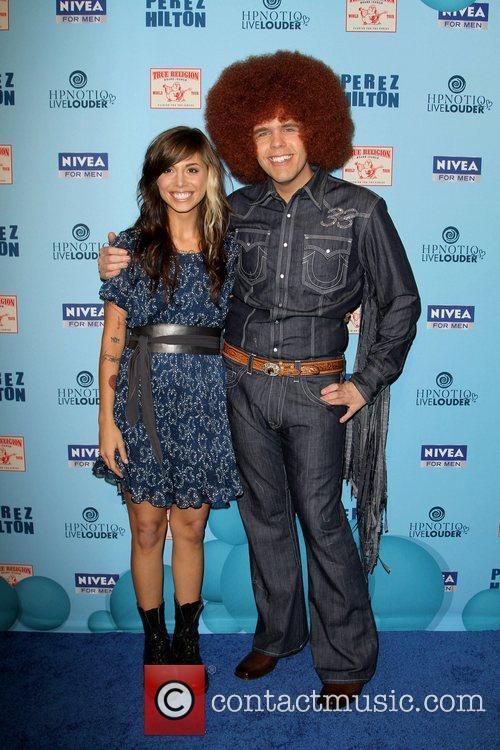 Christina Perri and Perez Hilton 'Perez Hilton's Blue...