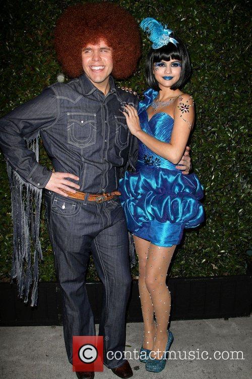 Perez Hilton and Selena Gomez 'Perez Hilton's Blue...