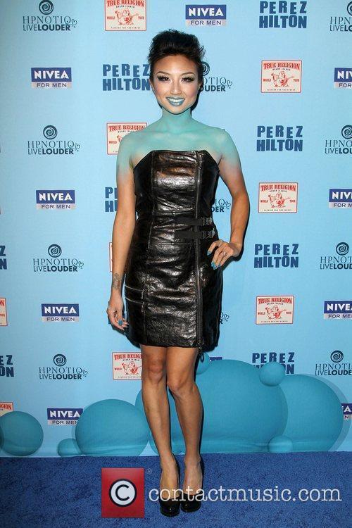 Jeannie Mai  'Perez Hilton's Blue Ball 33rd...