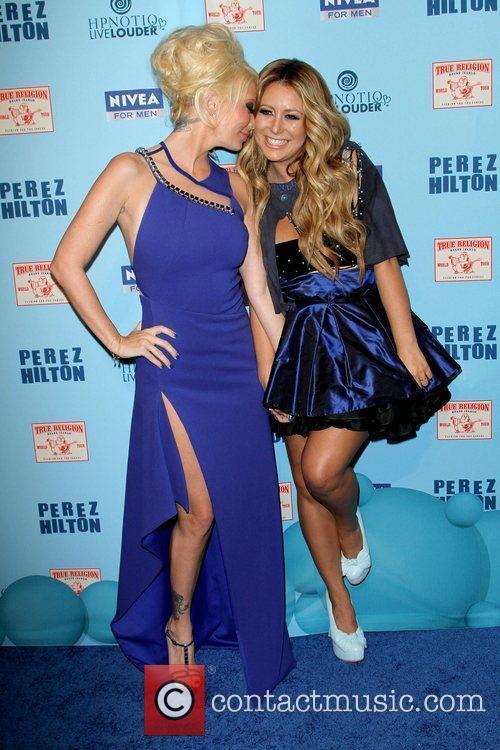 Jenna Jameson and Aubrey O'Day 'Perez Hilton's Blue...