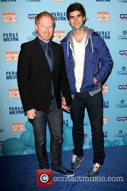 Jesse Tyler Ferguson and Guest 'Perez Hilton's Blue...