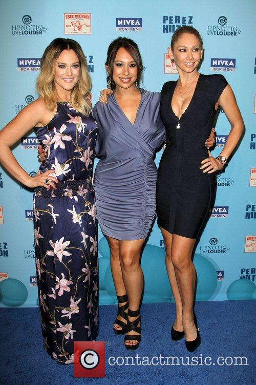 Lacey Schwimmer, Cheryl Burke and Kym Johnson 4