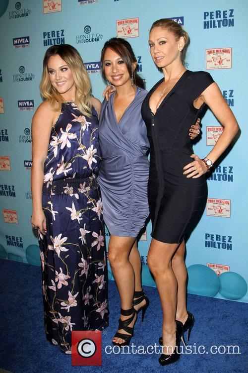 Lacey Schwimmer, Cheryl Burke and Kym Johnson 5