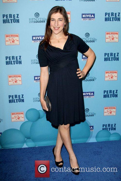 Mayim Bialik 'Perez Hilton's Blue Ball 33rd Birthday...