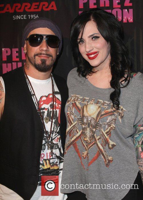 AJ McLean and Rochelle Karidis Carrera Presents Perez...