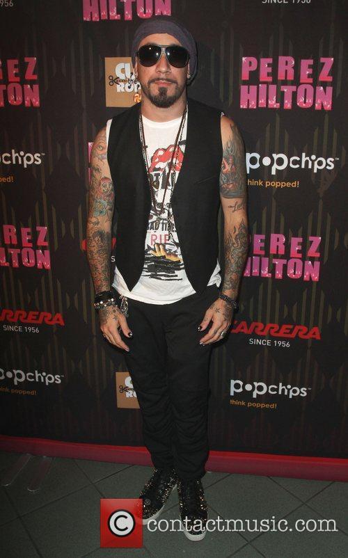 AJ McLean Carrera Presents Perez Hilton's One Night...