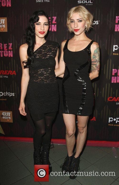 The Veronicas Carrera Presents Perez Hilton's One Night...