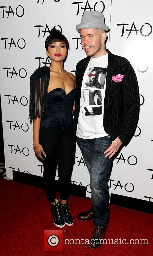 Kat Graham and Perez Hilton Perez Hilton hosts...