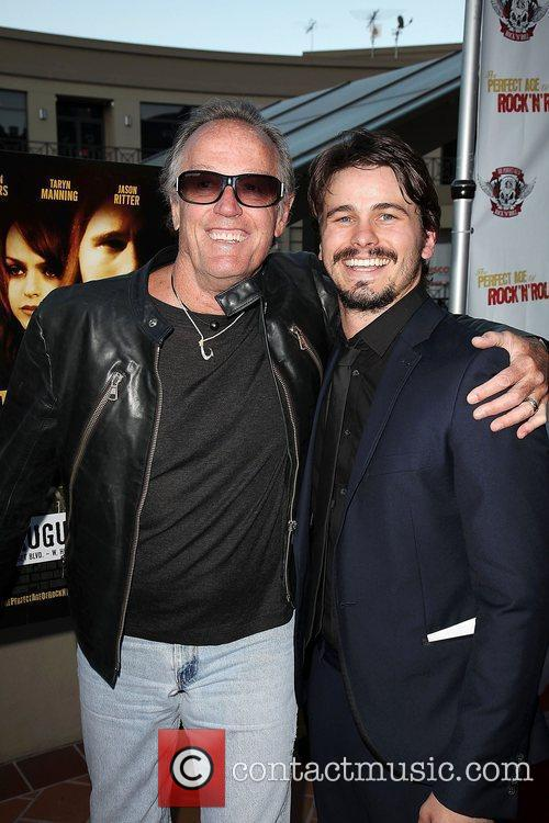 Peter Fonda and Jason Ritter 2