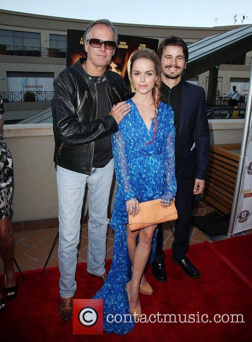 Peter Fonda, Jason Ritter and Taryn Manning 1
