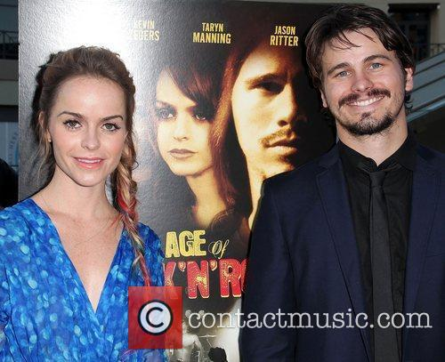 Taryn Manning and Jason Ritter 1