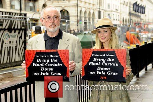 West End stars Peter Egan and Carley Stenson...