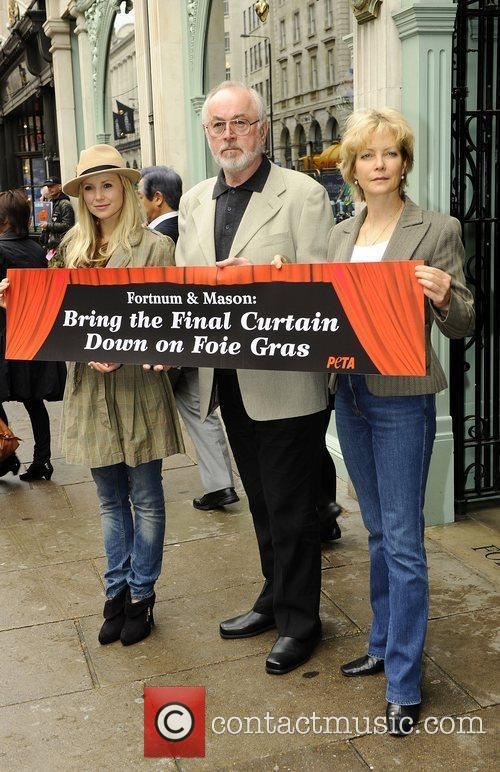 West End stars Carley Stensen, Peter Egan and...
