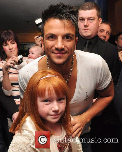 Peter Andre, Holly Kelly  Peter Andre performs...